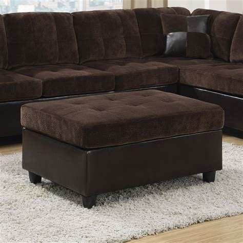 lowes mallory coaster furniture 505646 mallory velvet ottoman