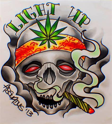 smoke de weed till mi eyes dem a bleed xdd by absurdus666