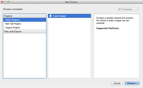 qt tutorial osx osx why does qtcreator not show the applications