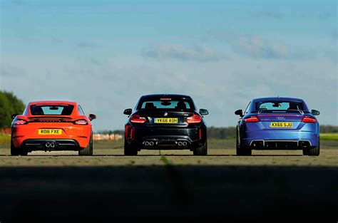 Audi Tt 8s Test by 2017 Audi Tt Rs 8s Vs 2017 Porsche 718 Cayman S 982 And