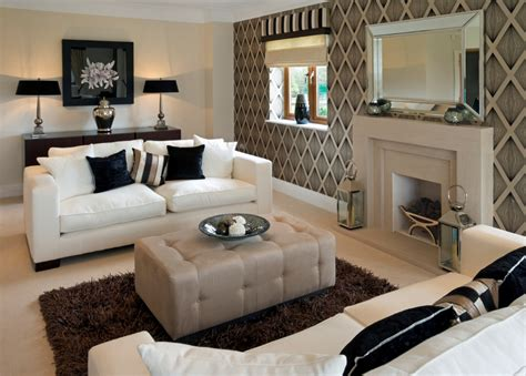 design ideas for rectangular living rooms dorancoins com nice brown wallpaper and charming fireplace for classic