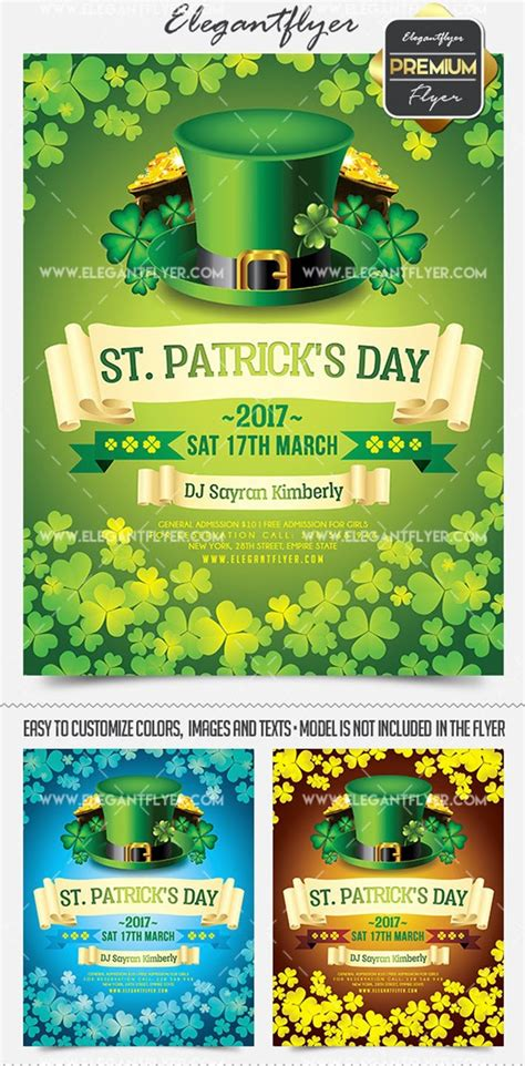 St Day Flyer Template Free
