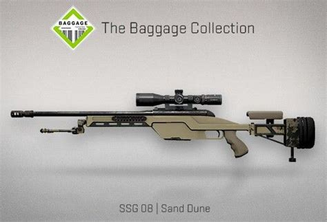 Jual Csgo Item Skin Baggage Ssg 08 Sand Dune Consumer Grade Counter Strike Global Offensive The Baggage Collection