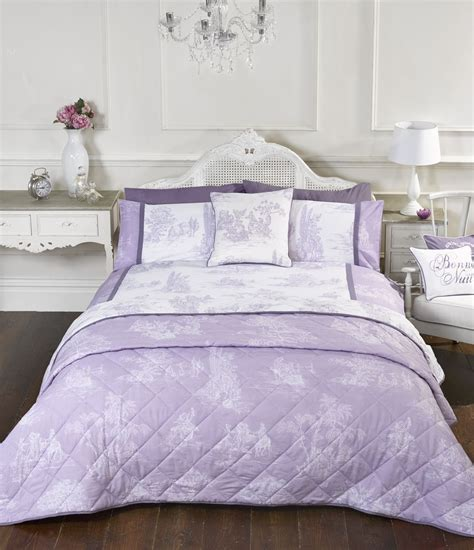Pp Quilt Cover Cushion vintage style lilac quilt duvet covers or cushion cover or