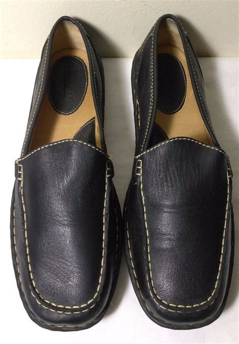 Navy Size 5 ralph womens caliana flat leather loafers navy shoes size 8 5 b msrp 98 what s it worth
