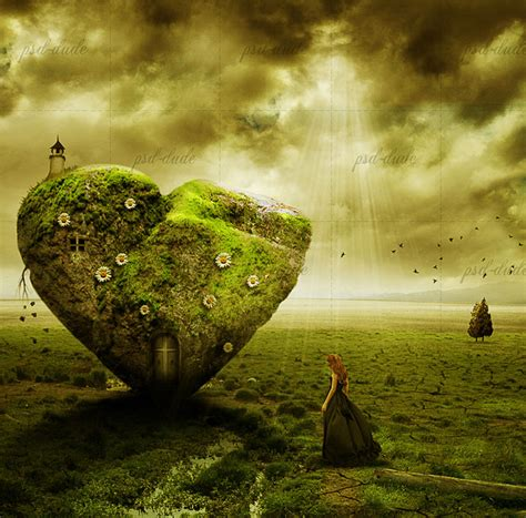 tutorial adobe photoshop manipulation photoshop digital art the stone heart photo manipulation