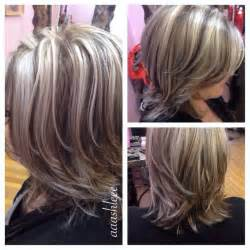putting silver on brown hair putting lowlights in graying hair hairstylegalleries com