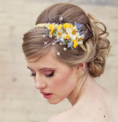 floral hair accessories for wedding spring flowers headband headbands for women and weddings