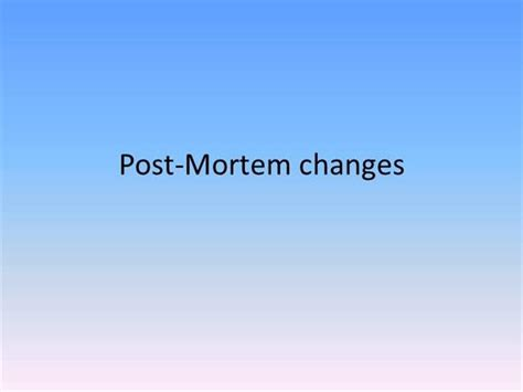 post mortem template powerpoint post mortem changes authorstream