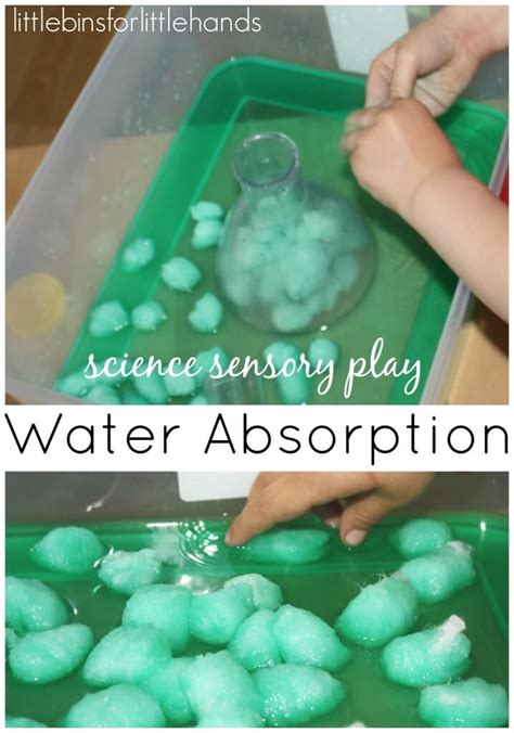 sensory water water sensory science activities for early learning play