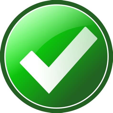 Background Check In Oklahoma Green Checkmark Clip At Clker Vector Clip Royalty Free