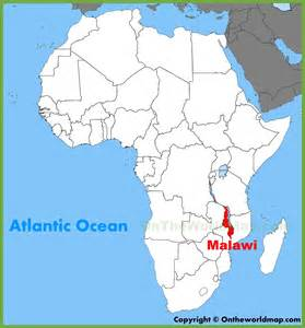 Malawi Africa Map by Malawi Location On The Africa Map
