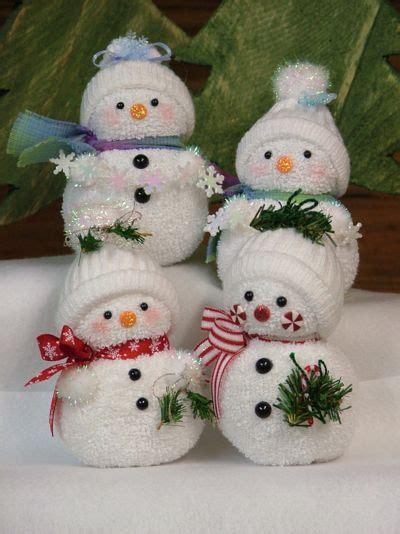 sock snowman snowman