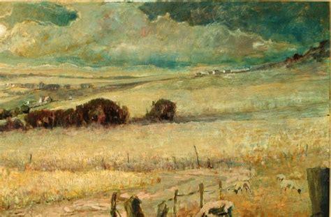 Landscape Artists Kent Kent R Wallis Born 1945 On Canvas