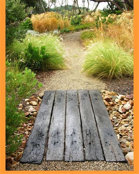 stone wood for coastal garden look coastal landscape ideas pint