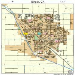 turlock california map 0680812
