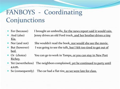 ppt coordination and subordination powerpoint