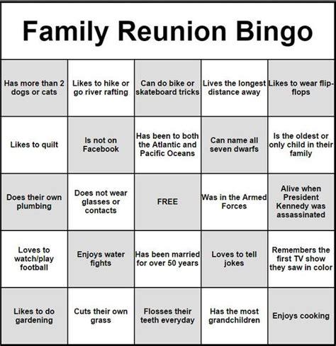 Get To You Bingo Card Template by Bingo Cards Icebreaker Ideas Family