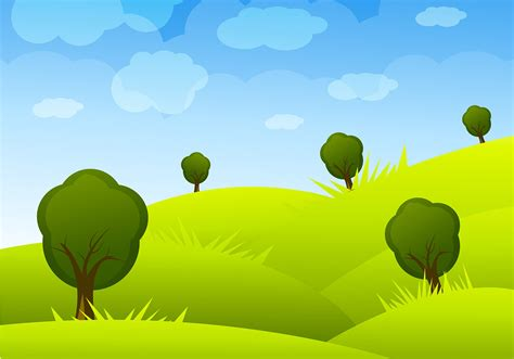 wallpaper cartoon landscape cartoon landscape vector download free vector art stock
