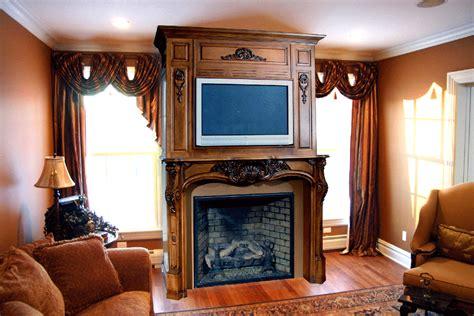 Fireplace Mantels For Tv by Plasma Mantel Custom Plasma Mantel Plasma Television