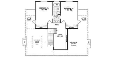 Country Style House Plan 3 Beds 2 5 Baths 2200 Sq Ft 2200 Sq Ft House Plans