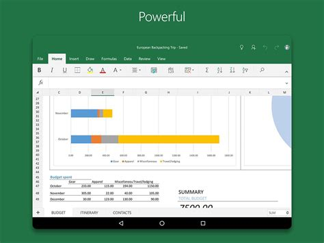 Best Tablet For Excel Spreadsheets by Microsoft Excel Android Apps On Play