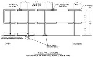 industrial handrail dimensions images