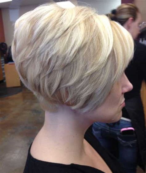 short stacked haircuts for fine hair that show front and back very trending stacked bob haircuts bob hairstyles 2017