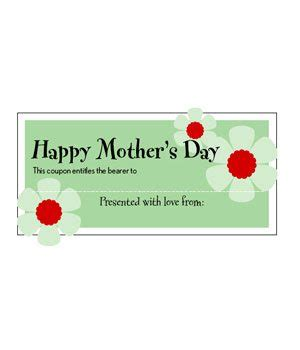 S Day Gift Card Template by Free S Day Coupons
