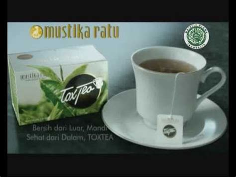 Mustika Ratu Tox Tea 15 Bungkus jamu tox tea mustika ratu tvc original