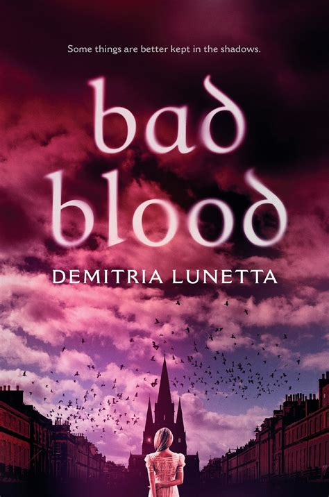 bad blood demitria lunetta bad blood signed arc giveaway and book