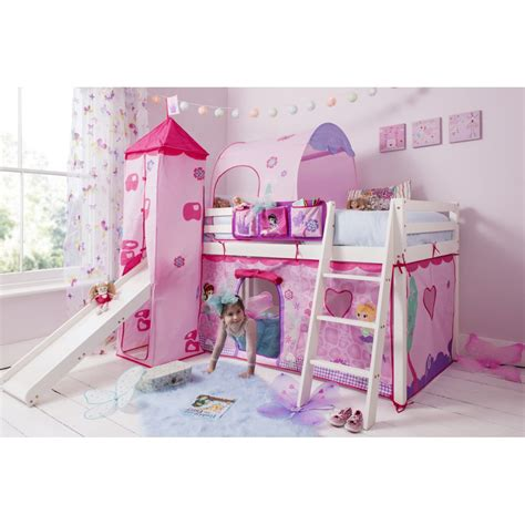 beds with slides cabin bed with slide tent tower and tunnel in fairies