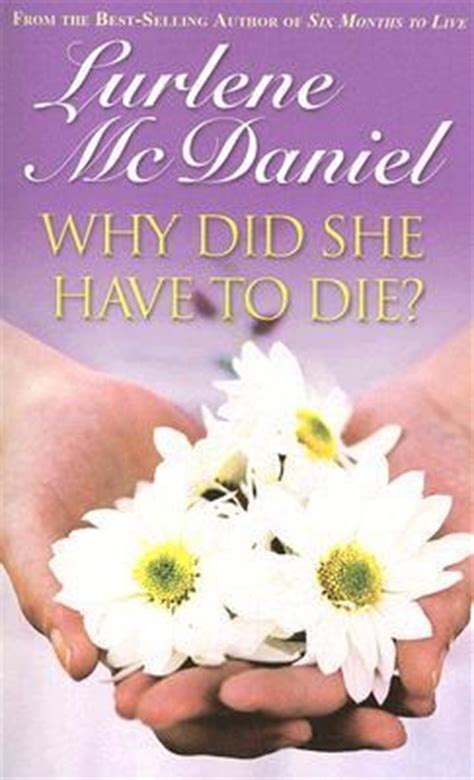 why she has to die books why did she to die by lurlene mcdaniel reviews
