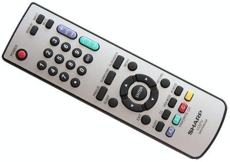 Remot Tv Lcd Sharp New Sharp Ga470wjsa Lcd Tv Remote Lc 26sh10u Lc 26sh20u