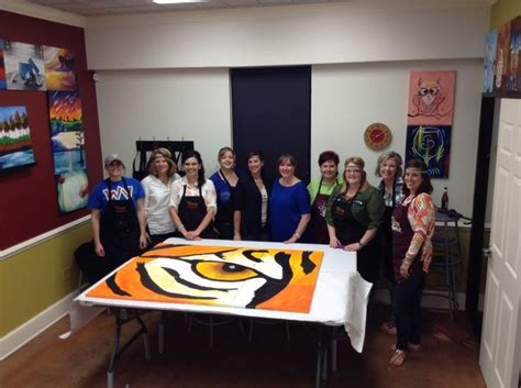 paint with a twist texarkana 13 best images about pwat team building events on