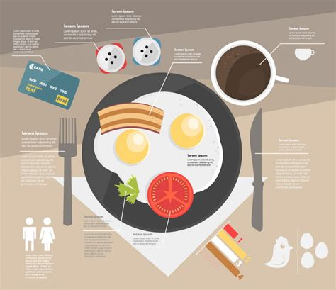 free microsite templates template infographic breakfast visual ly
