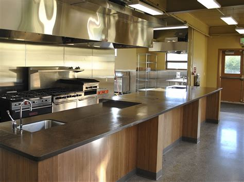 Kitchen Knowing The Different Kitchen Countertop Types To Epoxy Flooring Kitchen
