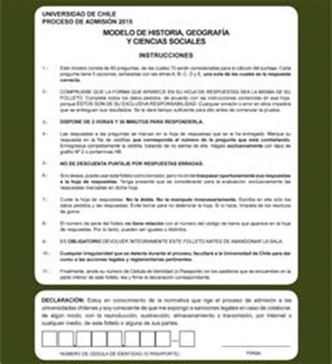 preguntas y respuestas historia de chile modelo de prueba de historia geograf 237 a y ciencias