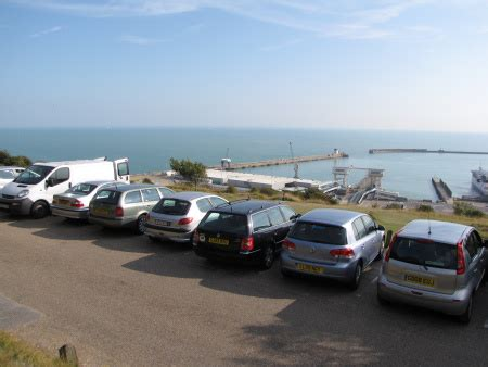 Dover Port Car Parking by Discovering Fossils Dover Kent