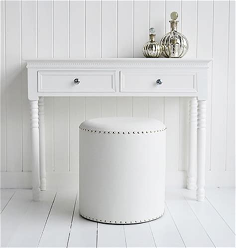 White Bedroom Stools Uk by White Dressing Table Stool From The White Lighthouse