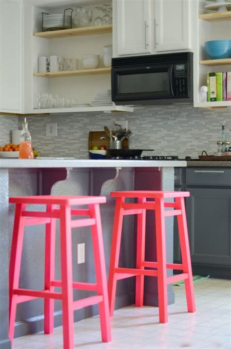 Colored Bar Stools 18 Brilliant Kitchen Bar Stools That Add A Serious Pop Of