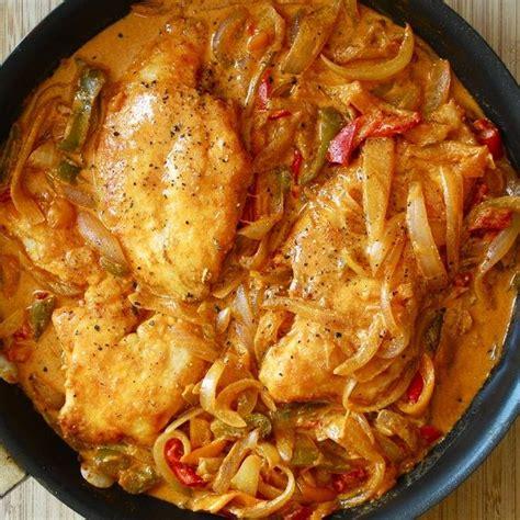 pressure cooker chicken paprikas recipe chicken