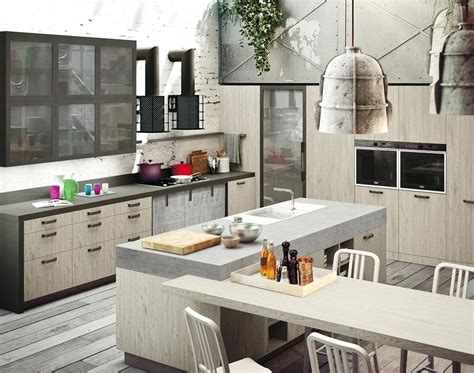 modern kitchen design 2018 loft industrial style modern