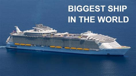 largest cruise ship being built 10 most largest cruise ships ever built youtube