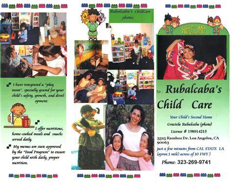 day care los angeles rubalcaba family child care los angeles ca family day care home