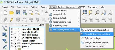 qgis tutorial forestry qgis open foris