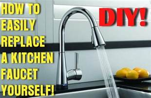 How To Replace Kitchen Faucets by How To Easily Remove And Replace A Kitchen Faucet