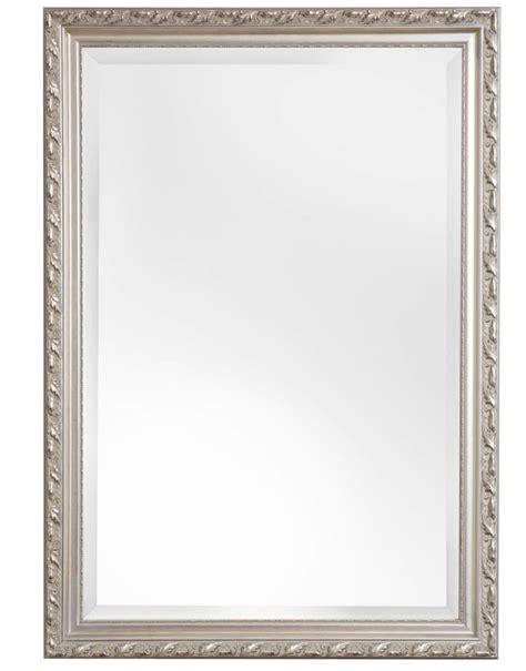 glasschiebetür mit rahmen spiegel mit silbernem barock rahmen kunstspiegel de