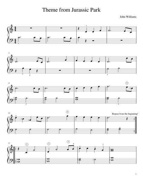 piano music on pinterest sheet music singers and lyrics jurassic park easy piano random pinterest