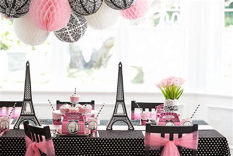 paris decor paris damask celebration birthday express